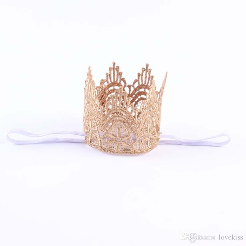 Fashion Headbands For Girls Baby Hair Accessories Head Bands Infants 2016 Crown Headband Childrens Accessories Hair Bands Lovekiss C25162
