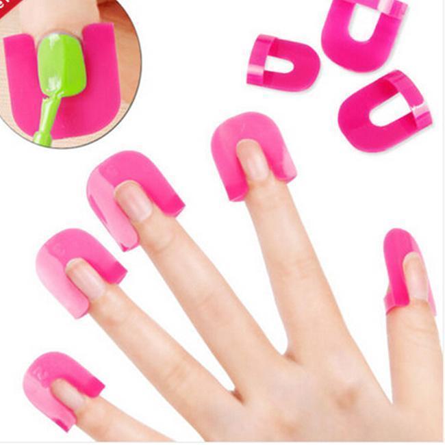 Chic Nail Art Polish Tip Kits Nail Polish Manicure Protection ...