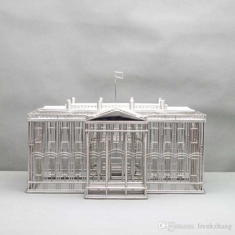 Free Shipment J42 White House Sculpture Wire Model Stainless Hand ...