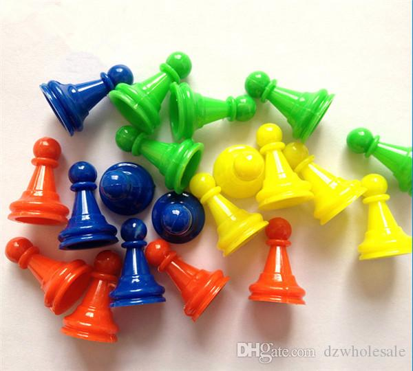 pawn/ chess plastic game pieces for board game/card game and other games accessories