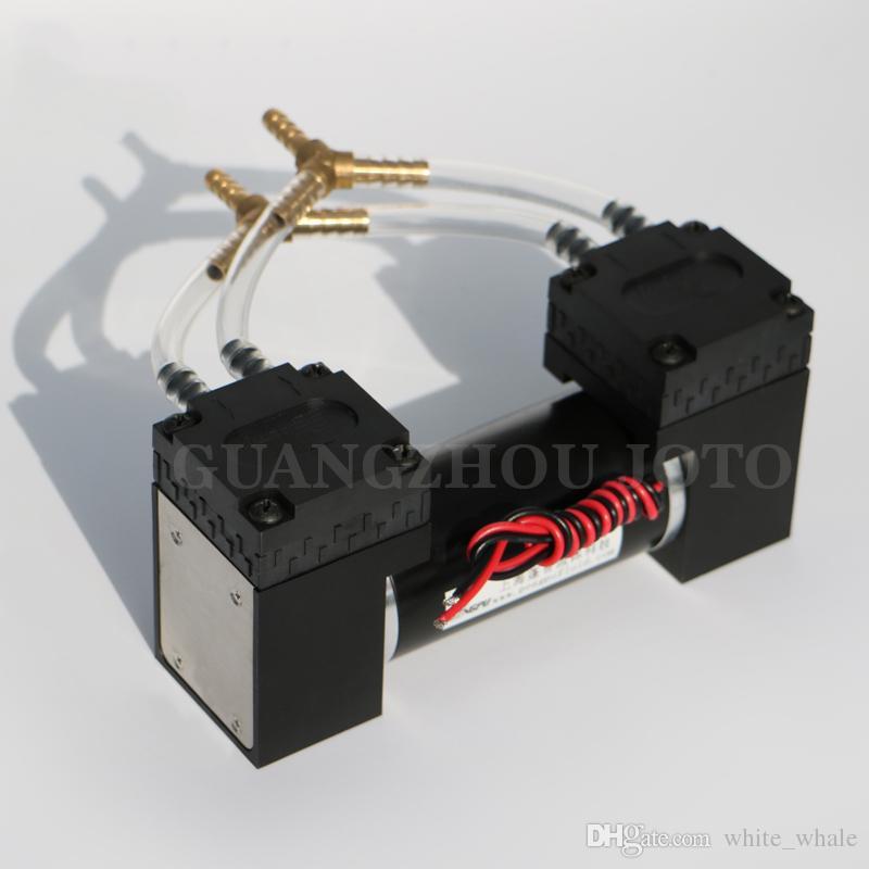 12V Small EPDM Diaphragm Vacuum Pump  85kPa High Vacuum Degree Negative  Pressure Quiet Less Vibration Electrical Air Pump Diaphragm Pump Electric  Pump ...