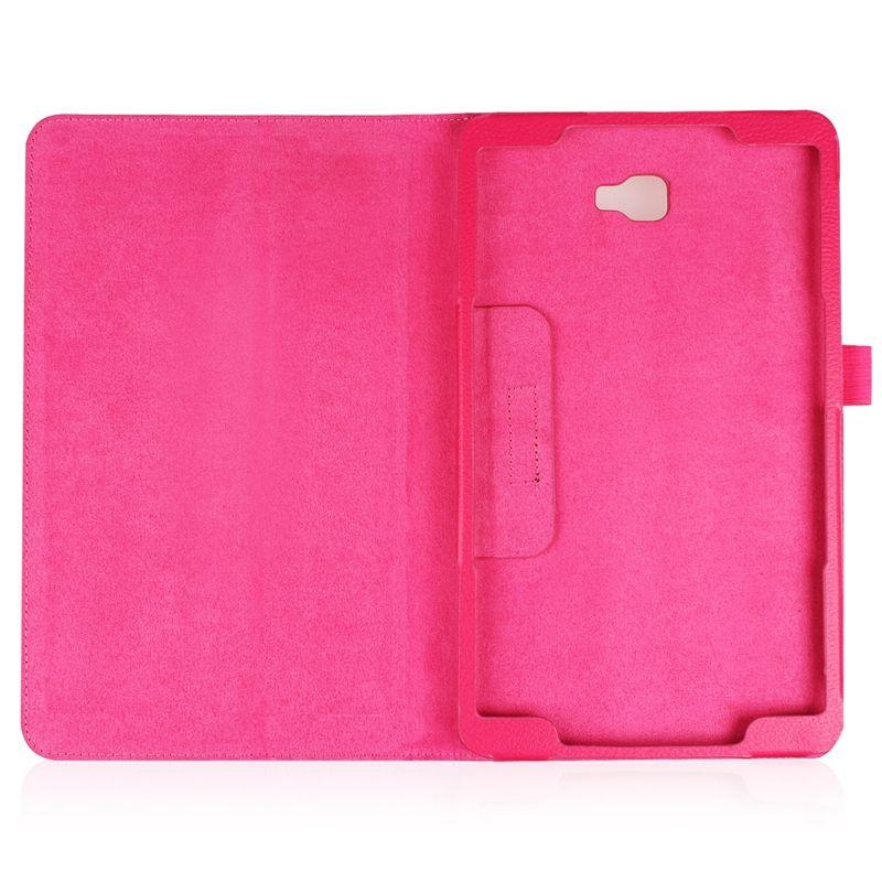 Личи PU кожаный чехол Case для Samsung Galaxy Tab 10.1 T585 T580 SM-T580 t580n 2016 планшет + защитная пленка