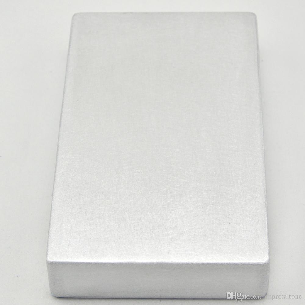 Pedale effetto chitarra in alluminio con stomp box in metallo stile 4S1590DD