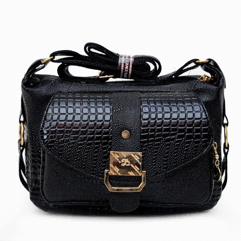 2016 Hot Sale Women Messager Bags High Quality PU Leather Shoulder Bag Mom  Causal Crossbody Bags Mid Age Women Handbags DB5723 Leather Backpack Purse  ... 377140a03bfaa