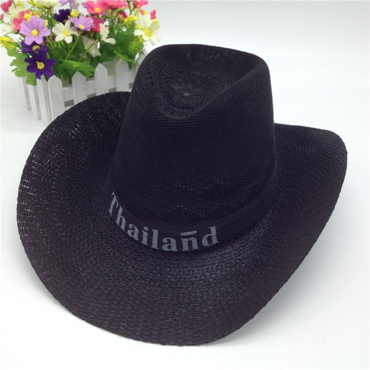 Summer Western Popular Brand Soft Straw Cowboy Hats For Men Chapeau Cowboy  Straw Cowboy Hat Hats In The Belfry Knit Hats From Abchouse 9f7d81dd0d1e