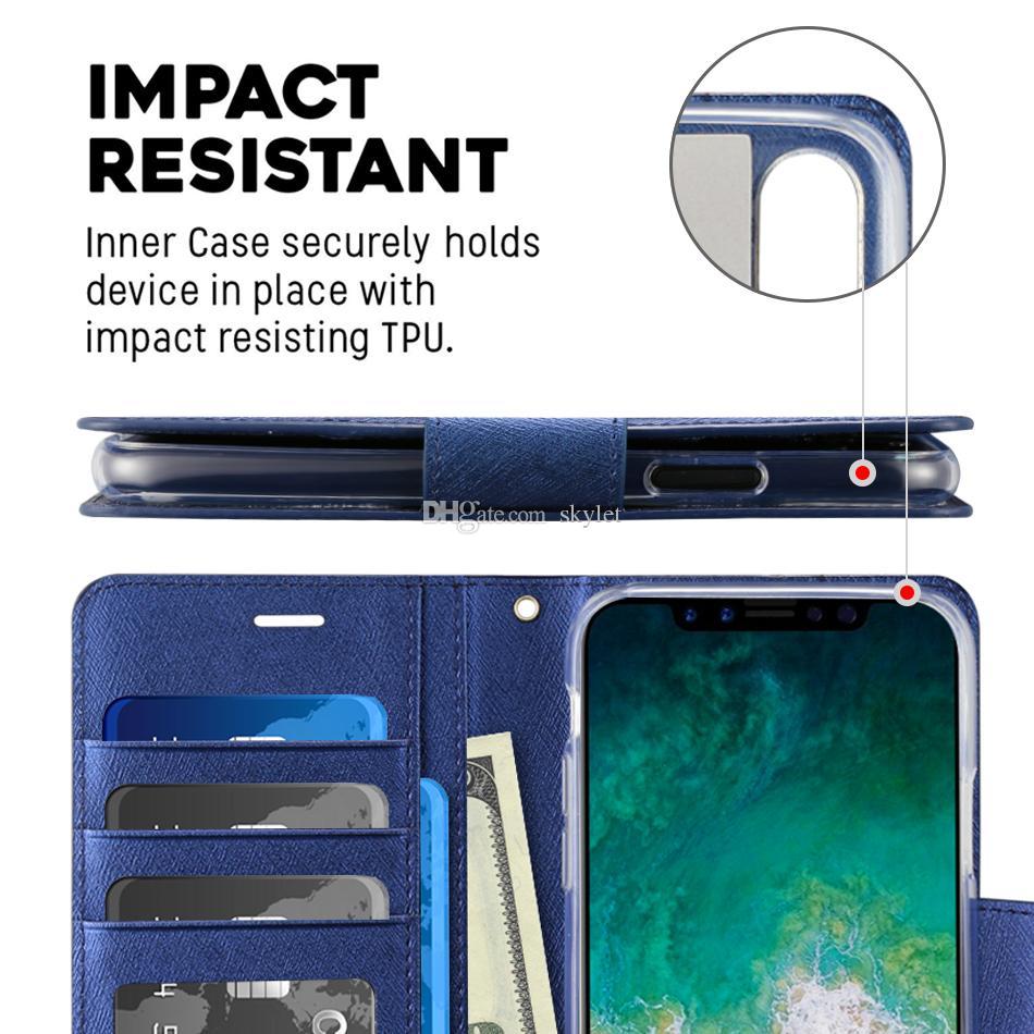 아이폰 11 PRO MAX XS 최대 XR XS 지갑 케이스 플립 커버는 제품과 함께 Note10 S10E S20 울트라 프로텍터 케이스에 대한 홀더 커버 케이스 스탠드