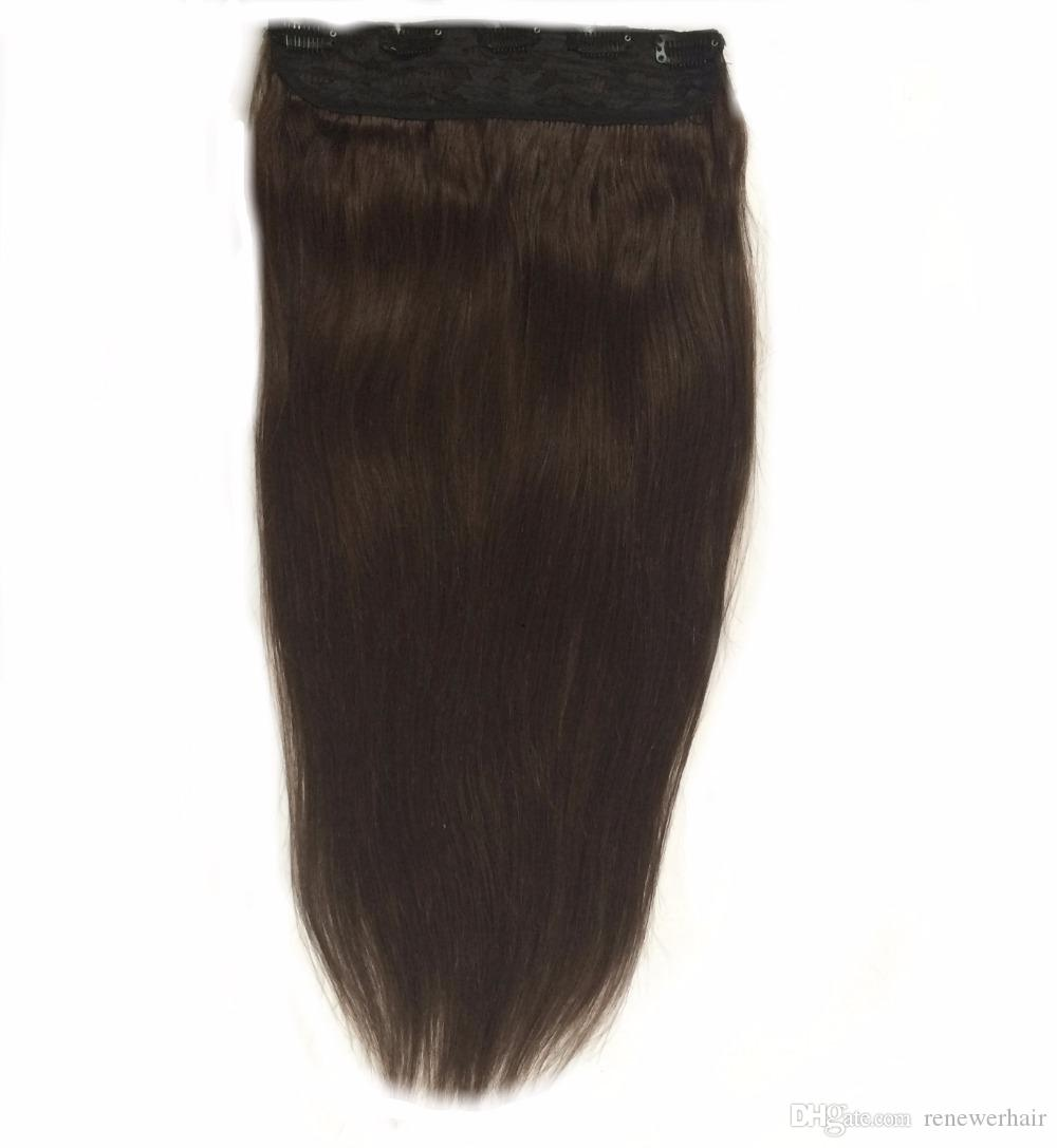 14 26 200g Best Quality Lace Quad Weft With Clip In Human Hair