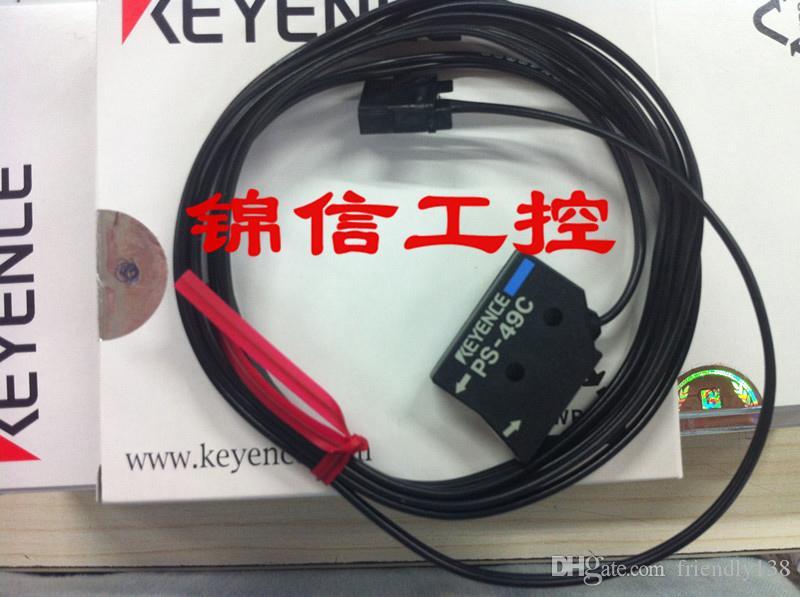 KEYENCE PS-49C Sensor Fotoelétrico Cabeça Cabeça Do Sensor Reflexivo Nova Marca de Garantia de Alta Qualidade Por Um Ano