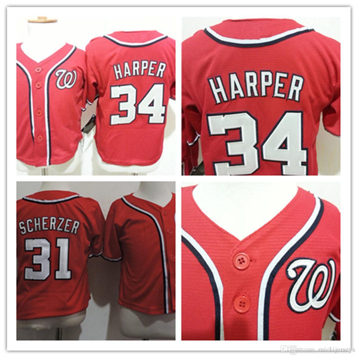 online retailer bdeca bf55e best bryce harper red jersey 9d672 7d4a1