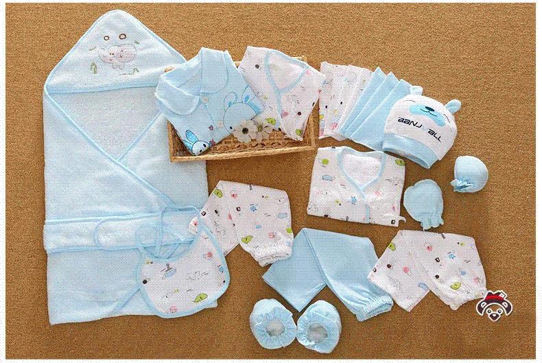82caf9f33 2019 Cotton Newborn Baby Clothing Set For Girls Boys Toddler Baby ...