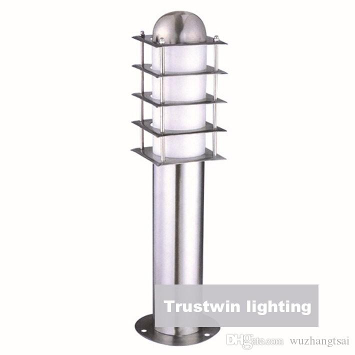 110V 220V 12V 24V landscape lawn sward garden stainless steel waterproof outdoor bollard pillar post light lamp