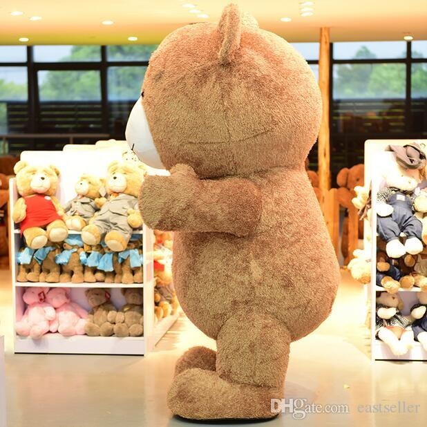 High Quality Big Fat Teddy Bear Cartoon Mascot Costume Toy Shop Promotion Suit Halloween Party Fancy Dress