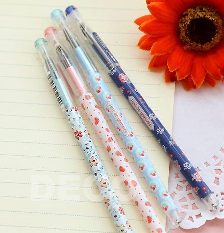 Elegant korean style floral pens stationery gel pen office supplies elegant korean style floral pens stationery gel pen office supplies ss a902 high quality pen tattoo china pen pod suppliers cheap pen eyebrow online with mightylinksfo