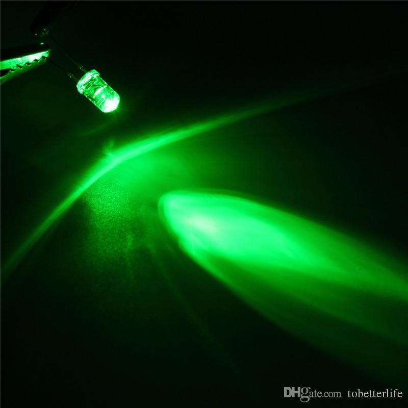 5 mm 10 mm perles de lumière mini-eau ronde de lumiére diode jaune clair blanc conduit rouge vert bleu LED rgb assortiment Kit
