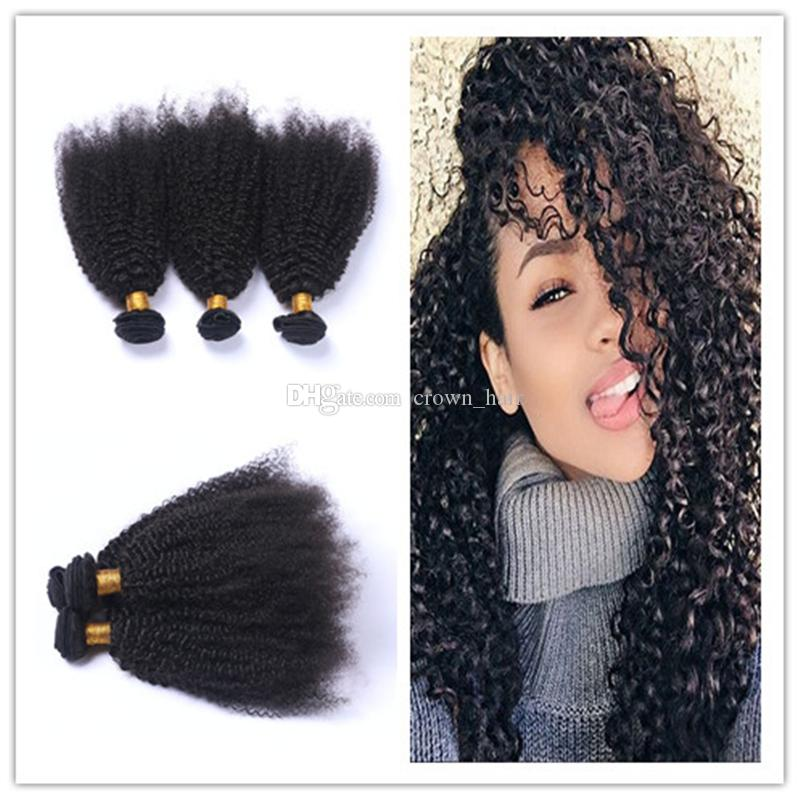 Cheap new arrival cheap kinky curly human hair bundles 8a see larger image pmusecretfo Images
