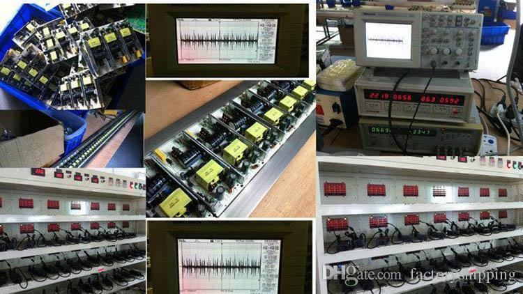 AC 100-240V Adattatore DC 12V 12A Alimentatore 72W 5050 3528 LED Monitor con protezione IC