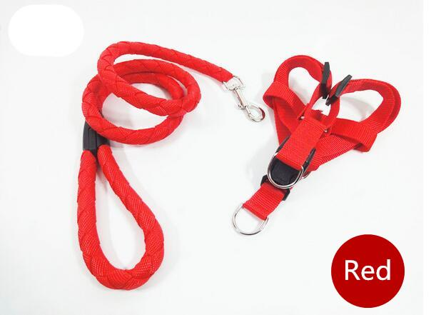 Hight quality dog leashes Weaving reflective Leashes for all sized dogs dog collars multicolor DHL
