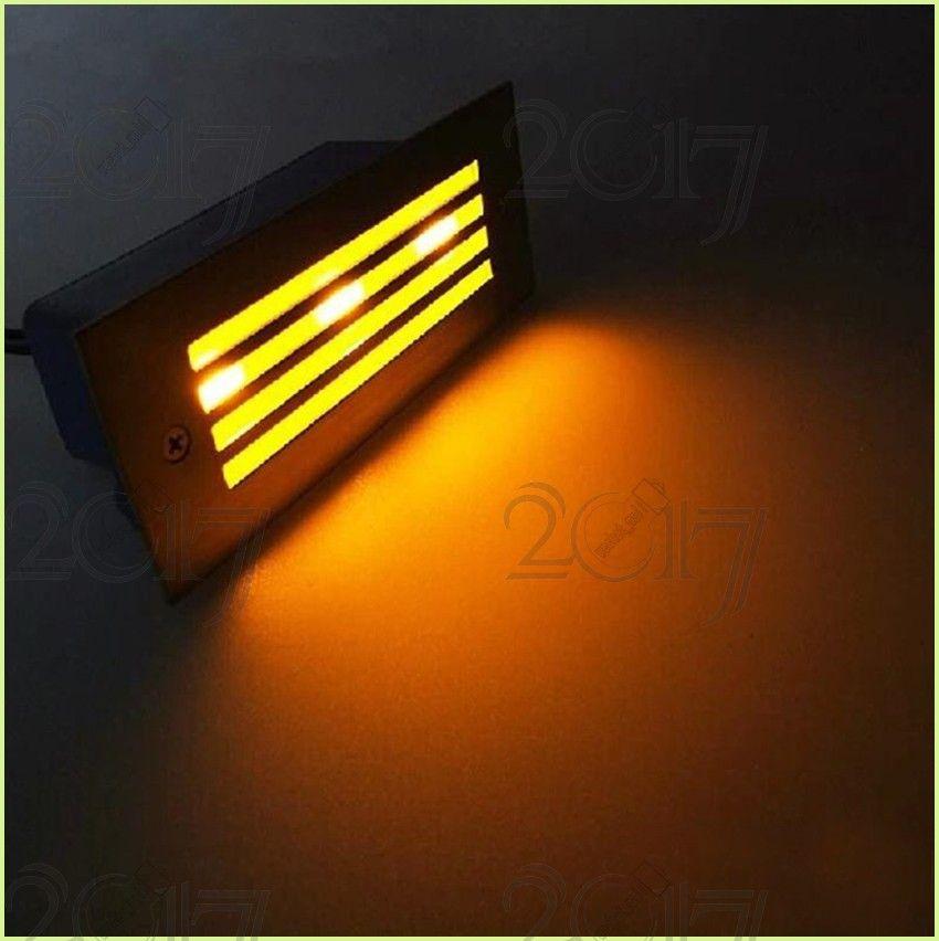 Открытый / закрытый светодиодный лестничный прожектор 3W светодиодный настенный светильник, свет водить Светодиодный свет, утопленный свет на полу, водонепроницаемый потолочный светильник 110v 220v