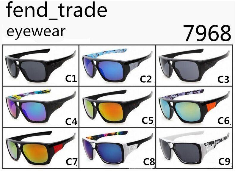 9 ألوان الخيار العلامة التجارية في REMIT النظارات الشمسية الرجال النساء أزياء الاتجاه نظارات الشمس سباق الدراجات الرياضة في الهواء الطلق النظارات النظارات