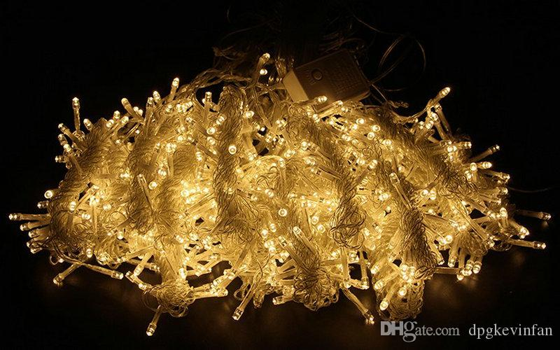 4.5M x decorazioni String 3M 300 ghiacciolo luce Wedding LED Luce di Natale LED della luce leggiadramente Garland Festa di compleanno Giardino tende la casa