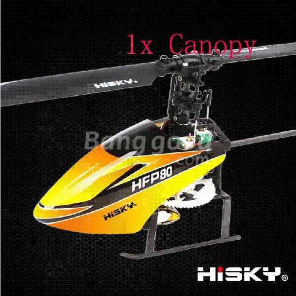 Discount Moonshade Hisky Hfp80 Fbl70 Rc Helicopter Spare Parts Yellow Canopy Canopy Bracket Canopy Tours Top Rc Engines Online Shop | Dhgate.Com & Discount Moonshade Hisky Hfp80 Fbl70 Rc Helicopter Spare Parts ...