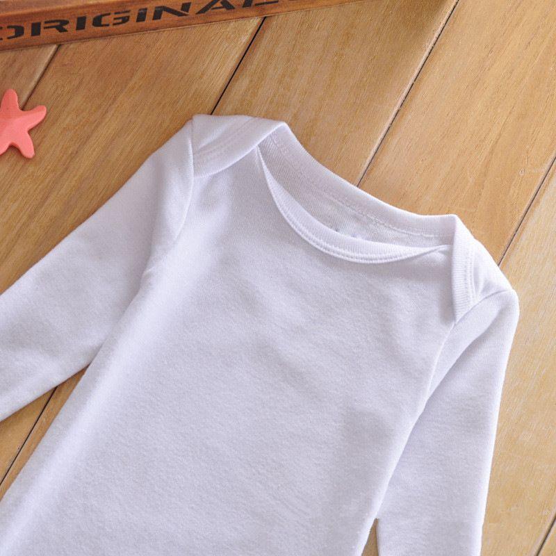 DHL-freier Baby-Jungen-Mädchen-Spielanzugkörperanzug Neugeborene lange Hülsen-Spielanzug Onesies 100% Baumwollkleidungs-Satz-Dreieck für Baby bestes Geschenk