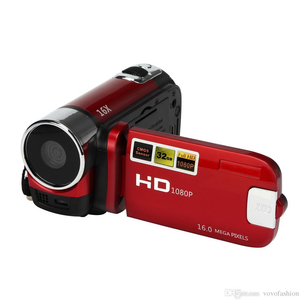 acheter cam ra rouge hd 1080p 16m 16x zoom num rique hd 100 cam scope cam ra dv maison d. Black Bedroom Furniture Sets. Home Design Ideas