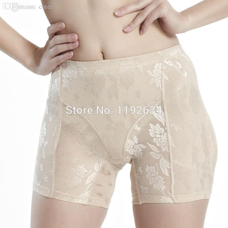 fe62b1499787 2019 Wholesale 2016 Summer Style Lady Padded Seamless Bottom Panties  Underwear Butt Lifter Briefs Butt Hip Enhancer Shaperwear Panties From  Cutee, ...