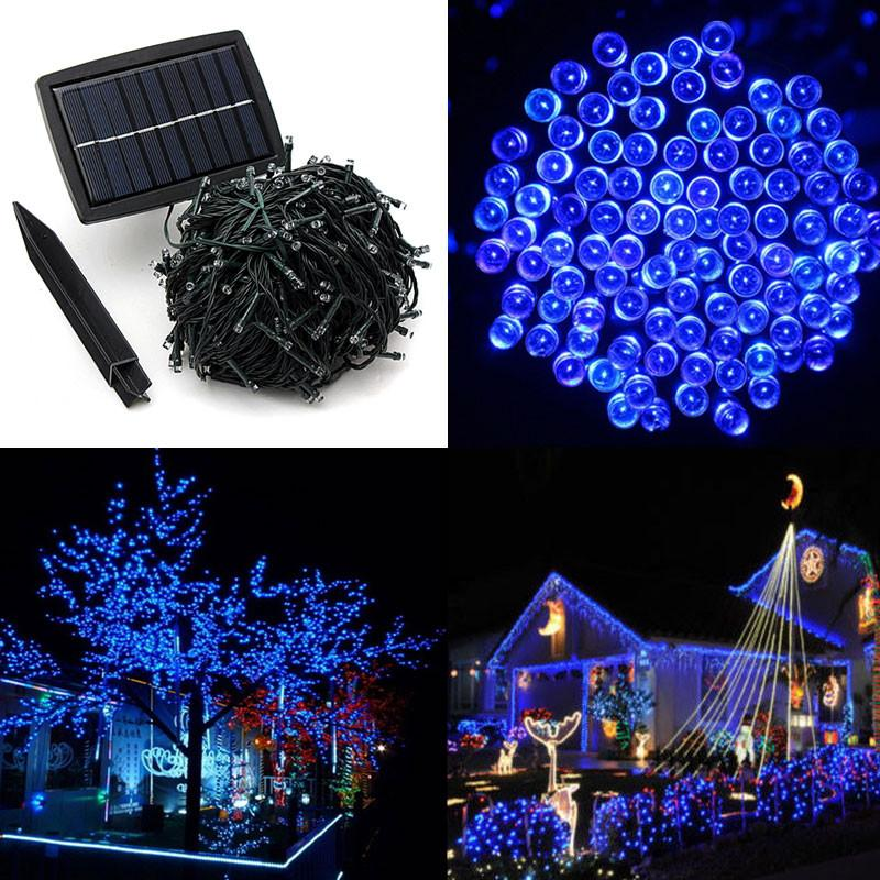 50m 500 led solar powered fairy strip light for xmas festival lights string rechargeable batteries for decorating garden solar strings solar strip solar