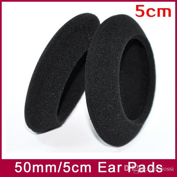 EarPads Foam Pad Sponge cushion cover Diameter 50mm 5cm for PP PX100 PX200 PX100II PX200II PX300 headphone earphones Hot!