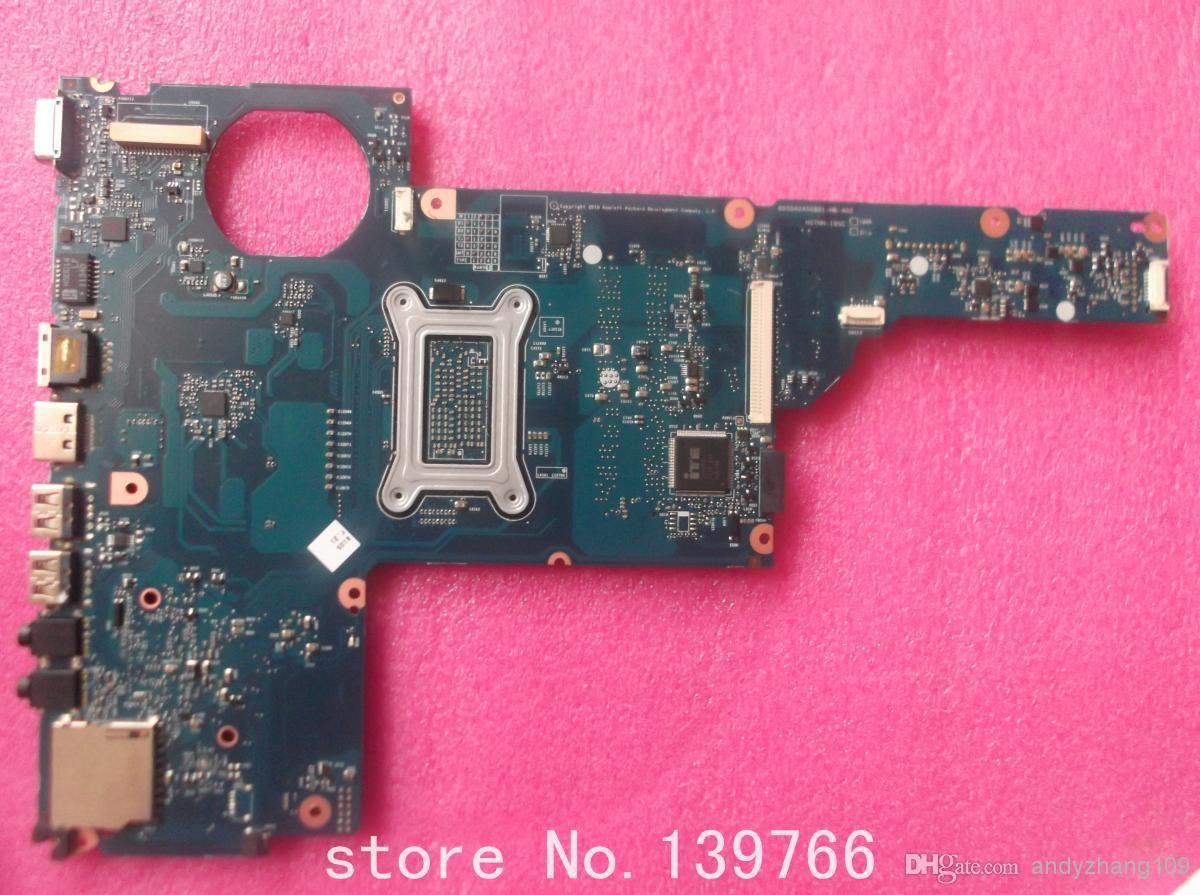 Carte mère 653087-001 pour carte mère d'ordinateur portable HP pavilion série G6 G6T G6-1B G6-1C avec chipset Intel DDR3 cpu I3-370M et hm55