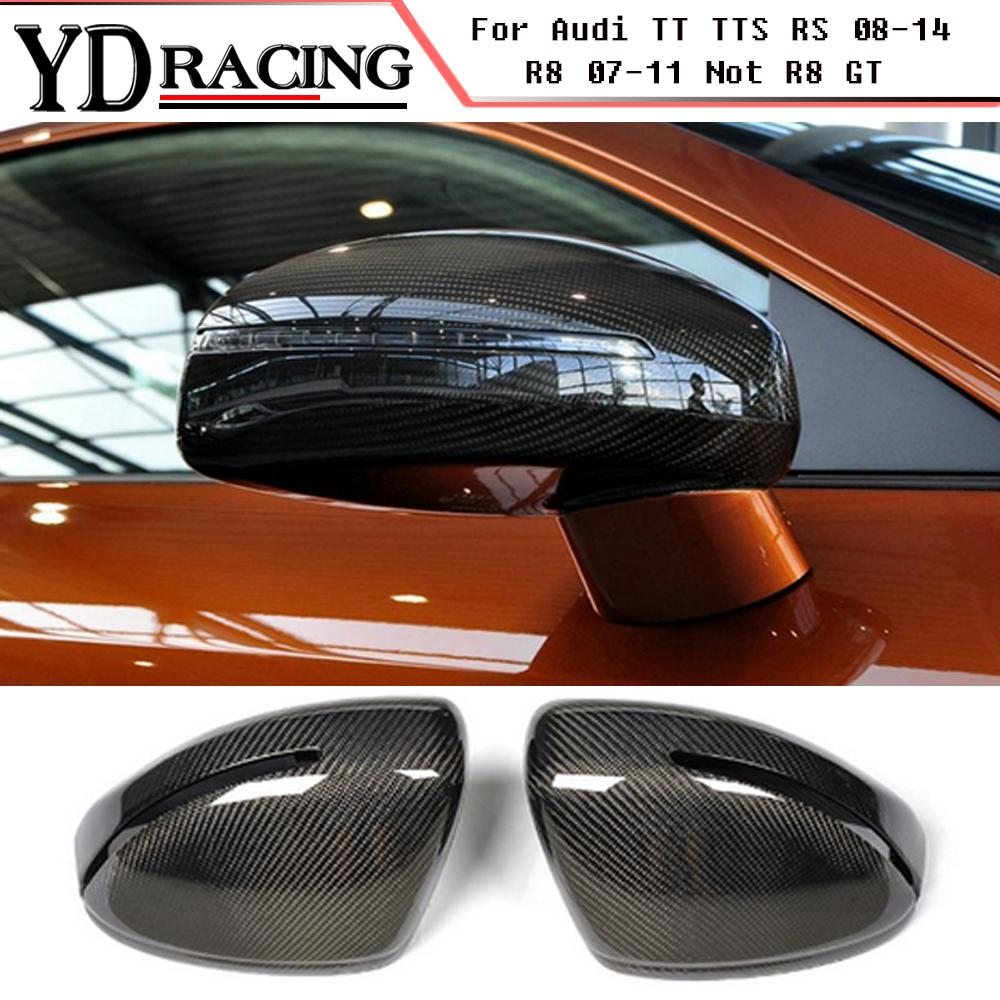 2020 Replacement Style Carbon Fiber Racing Mirror Cover