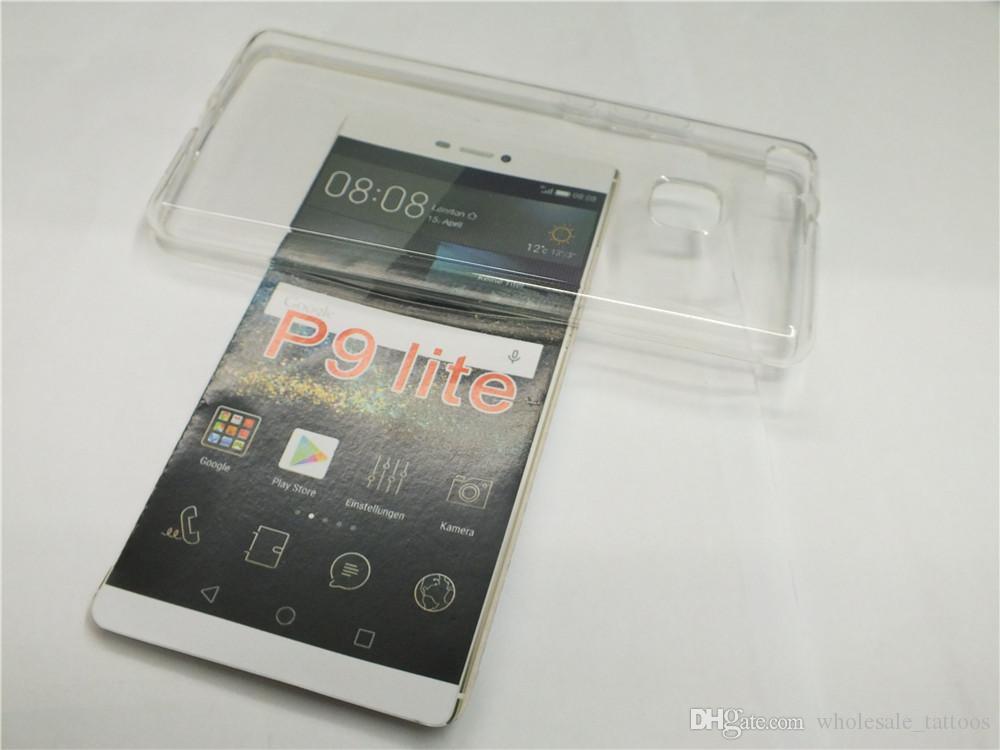 Transparenter klarer weicher TPU Gel-Kasten für Huawei P9 Lite Süßigkeits-Kristall-Plastiksilikon-Abdeckungs-Handy-Taschen