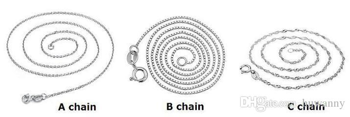 Silver Jewelry Chain Necklaces Pendants Hot Sale Fashion Crystal Pendant Necklace For Women Girl Party Gift 0228WH