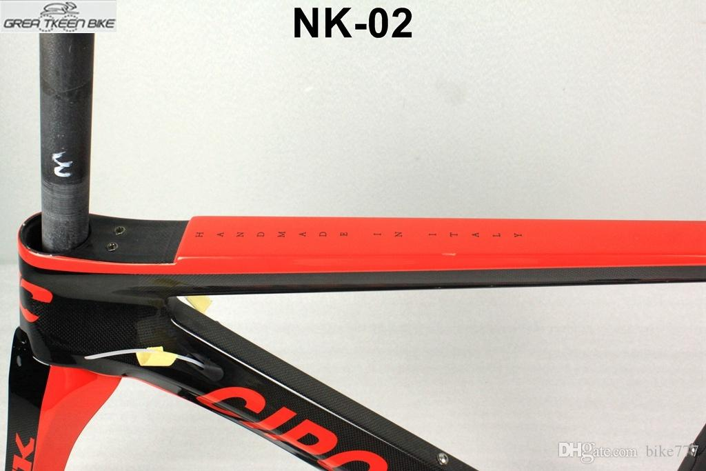 carbon road fiber T1000 bicycle frame 5 size RB1000 1K di2 internal cable