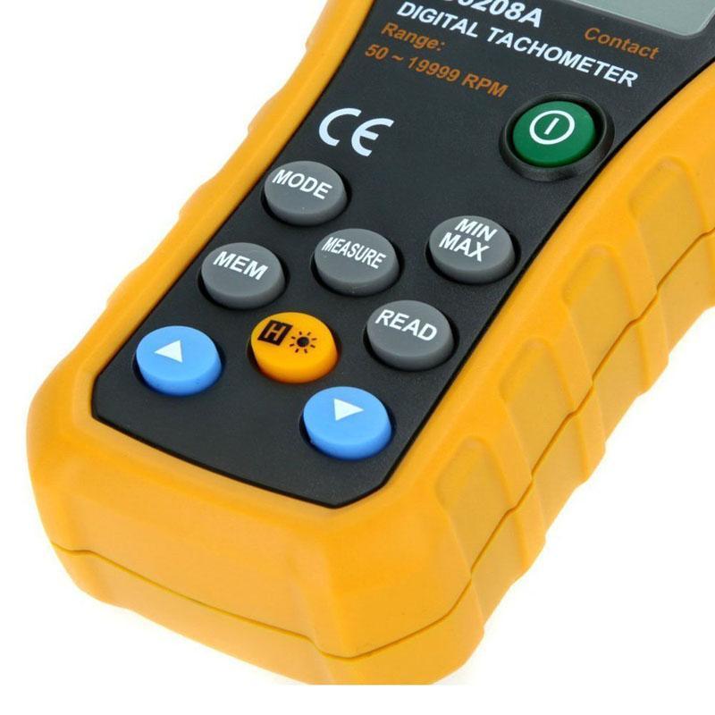Contagiri digitale a contatto contagiri Freeshipping 50-19999 giri / min. MAX