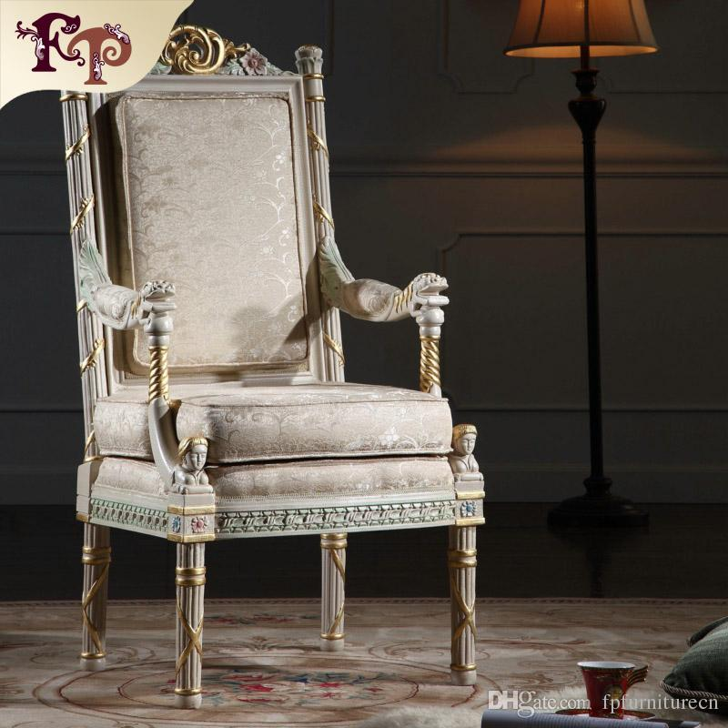 2019 French Provincial Furniture Classic Living Room Furniture Royal