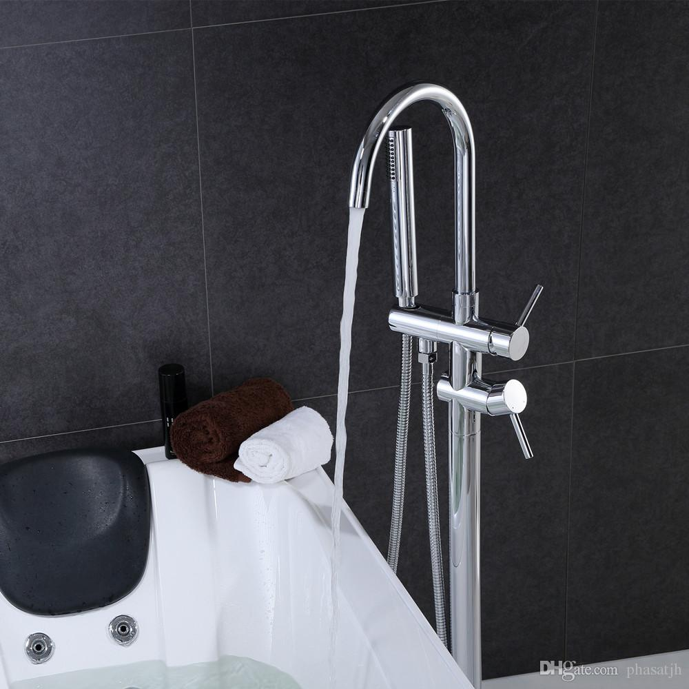 2018 Phasat Wholesale And Retail Floor Standing Bathtub Faucet With ...