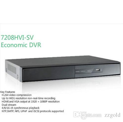 Hikvision 8 Channel DS-7208HVI-SV HD 960H BNC HDMI CCTV DVR Recorder 1SATA
