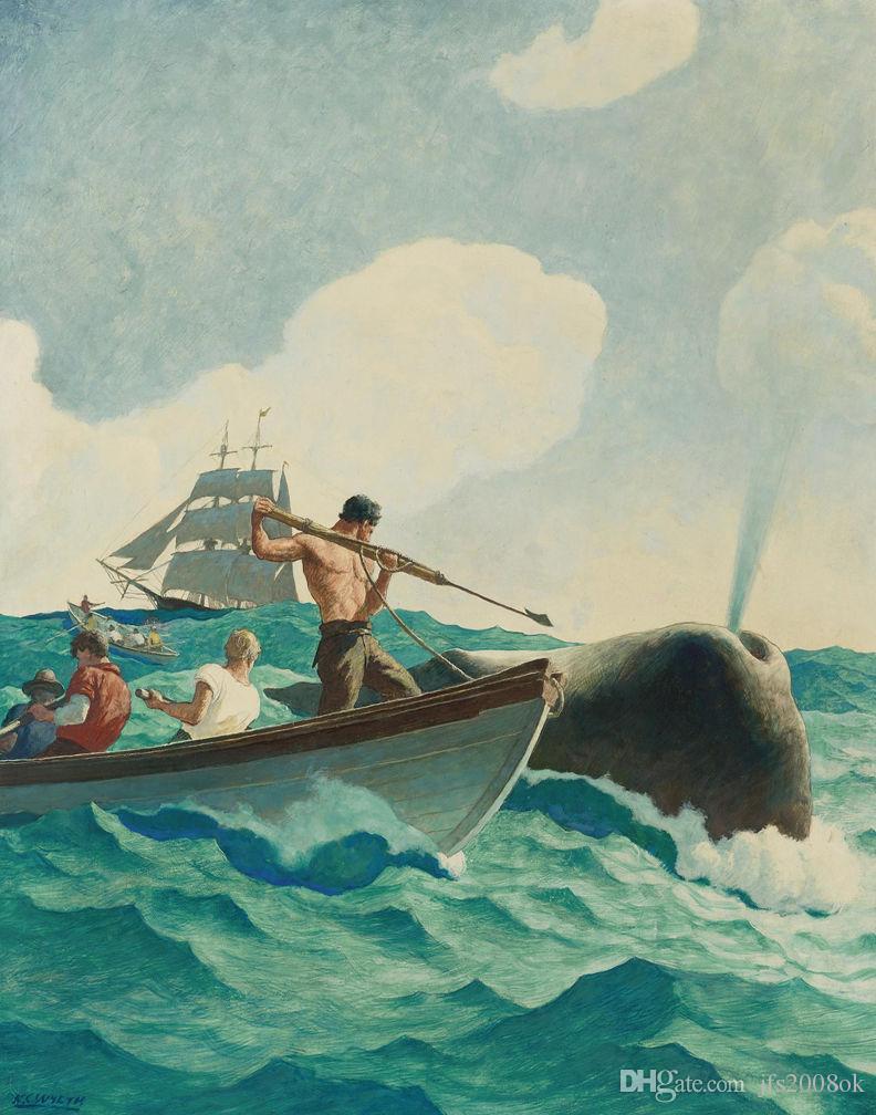 Compre Enmarcado Wyeth N C La Historia De La Caza De Ballenas ...