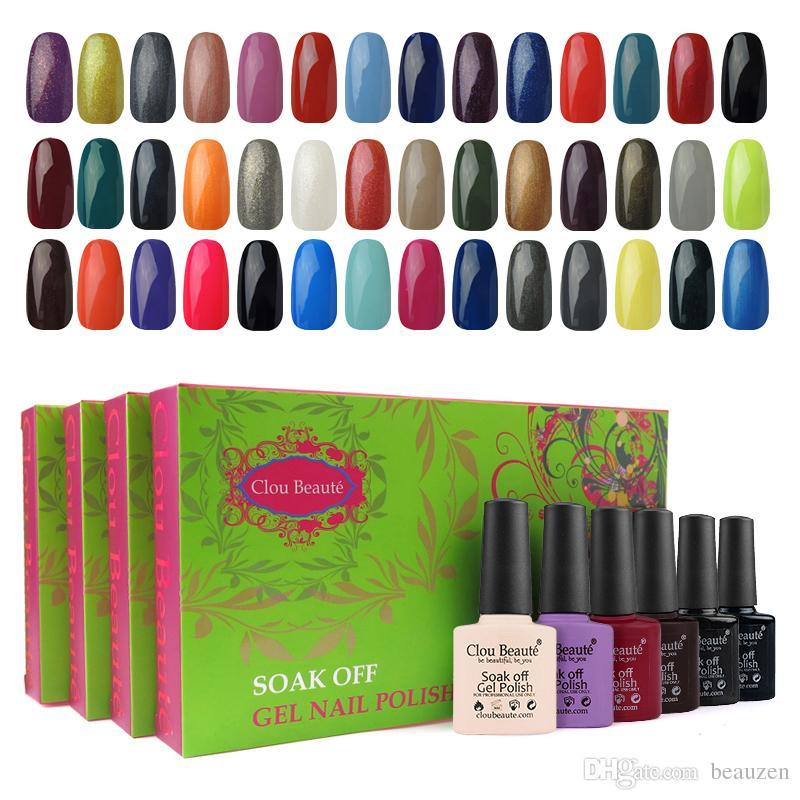 Nail Polish Standing Display Gel Polaco Clou Beaute Set De Uñas Sonp ...