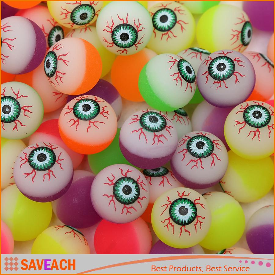 diameter 30mm rubber halloween eye ball spooky candy eyeballs hi bouncing balls bouncy ball picture bouncing ball for kids toys novelty meaning in