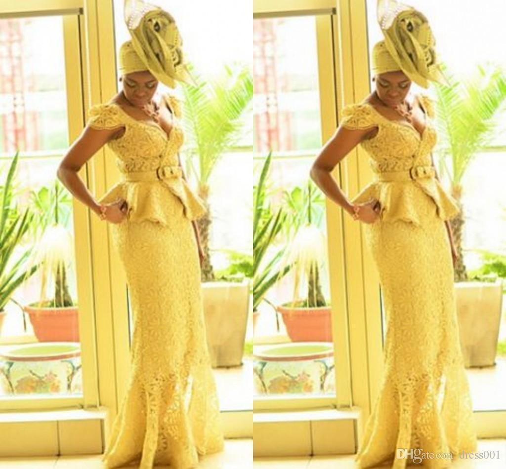 Fashion Ankara Kitenge African Women Prom Dresses Mermaid