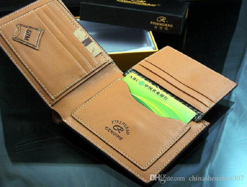 2015 мужской натуральный кожа роскошный кошелек вскользь короткие дизайнерские держатель карты карманный модный кошелек кошельки для мужчин бесплатная доставка 74