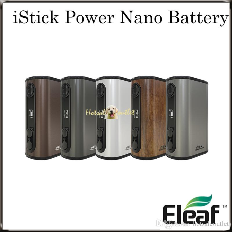 Authentic Eleaf iStick Power Nano Battery with 1100mAh Battery Capacity TC 40W Max Output 100% Original