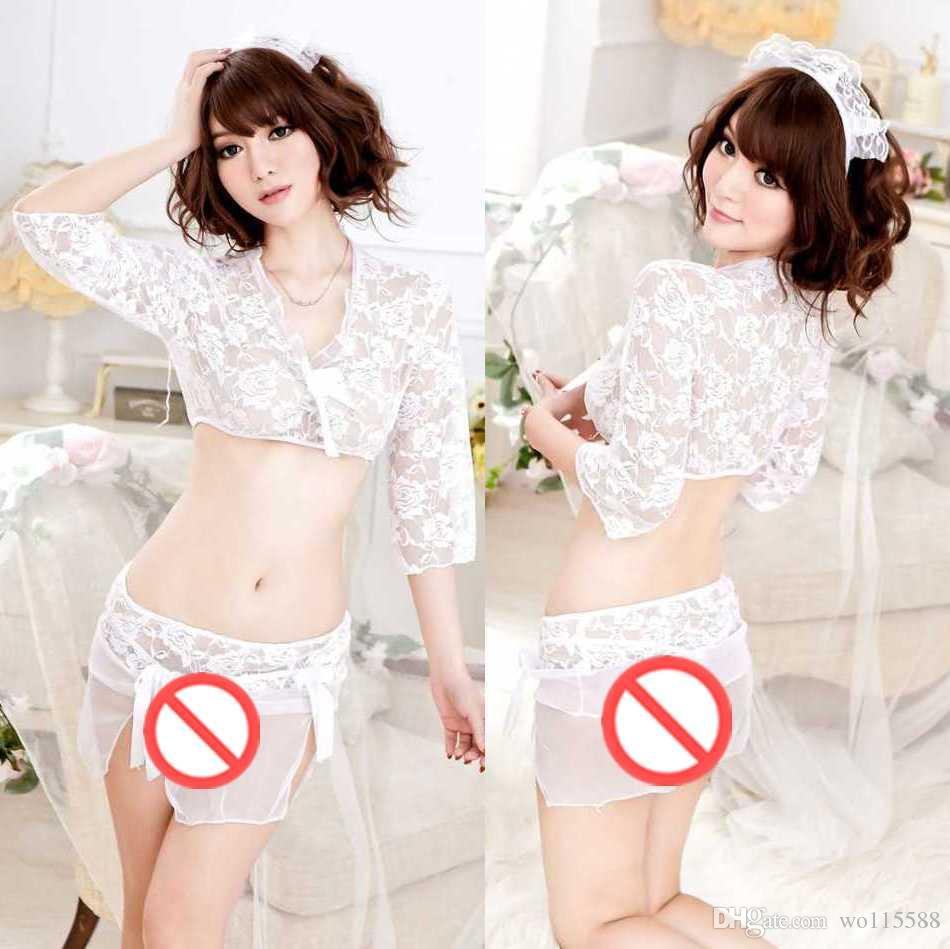 3ef1f7b3a02 New Sexy Lingerie New Sexy Lingerie Temptation White Hanging Empty ...