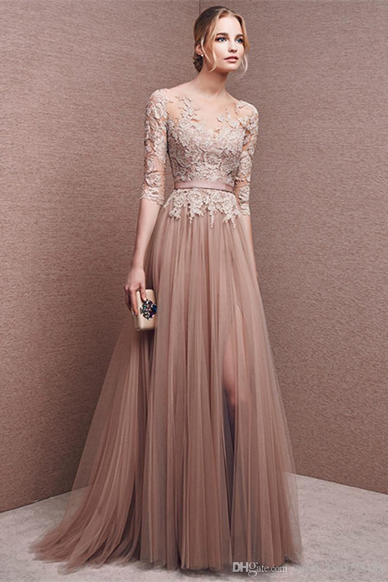 Vestido madrinha 2016 new bud silk long sleeve nail bead a line to vestido madrinha 2016 new bud silk long sleeve nail bead a line to see the color red bean paste bridesmaid tulle bridesmaid dresses long maid of honor ombrellifo Image collections