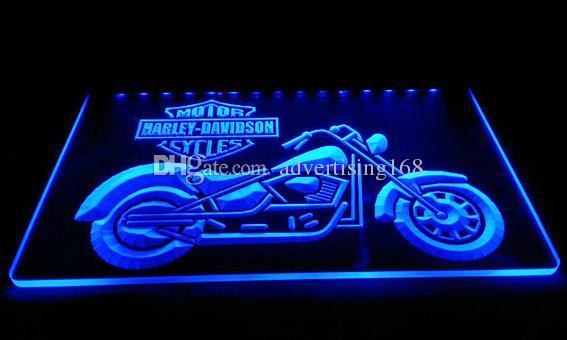 Ls608 B Motor Cycles Neon Light Sign Jpg Light Signs 3d Night Light