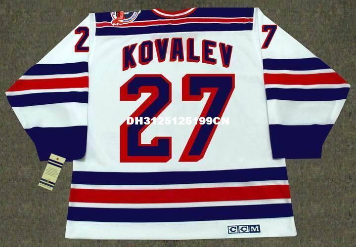 2019 Cheap Custom Retro ALEX KOVALEV New York Rangers 1994 CCM Vintage Home  Jerseys Mens Stitched Hockey Jersey From Etsyaliexpress a0f0c288048