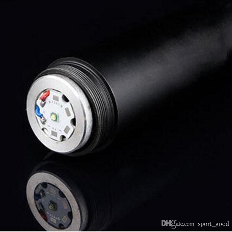 Новый Cree Q5 светодиодный тактический фонарик Факел длинный свет бейсбольной битой форма самообороны Волк светодиодные фонарик факелы